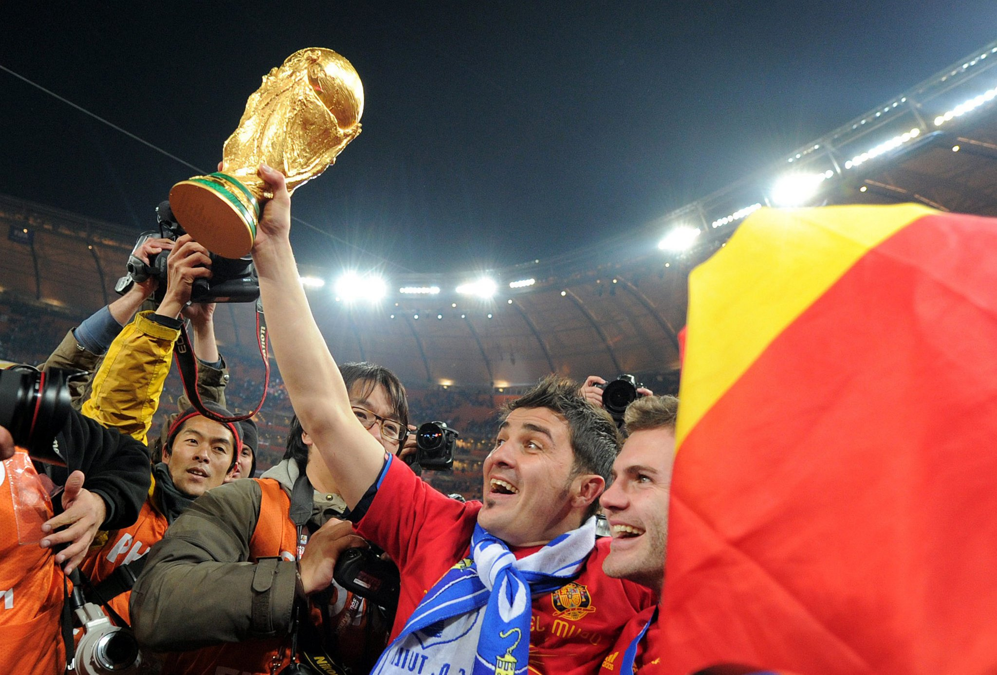 Happy birthday to La Liga & La Roja legend David Villa  What hasn\t he won?
