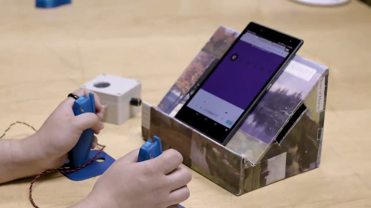 In our 48-hour hackathon with @AdaptiveDesign, five kids worked with designers and developers to prototype games to make learning Morse code fun → http://goo.gl/3HGWXT