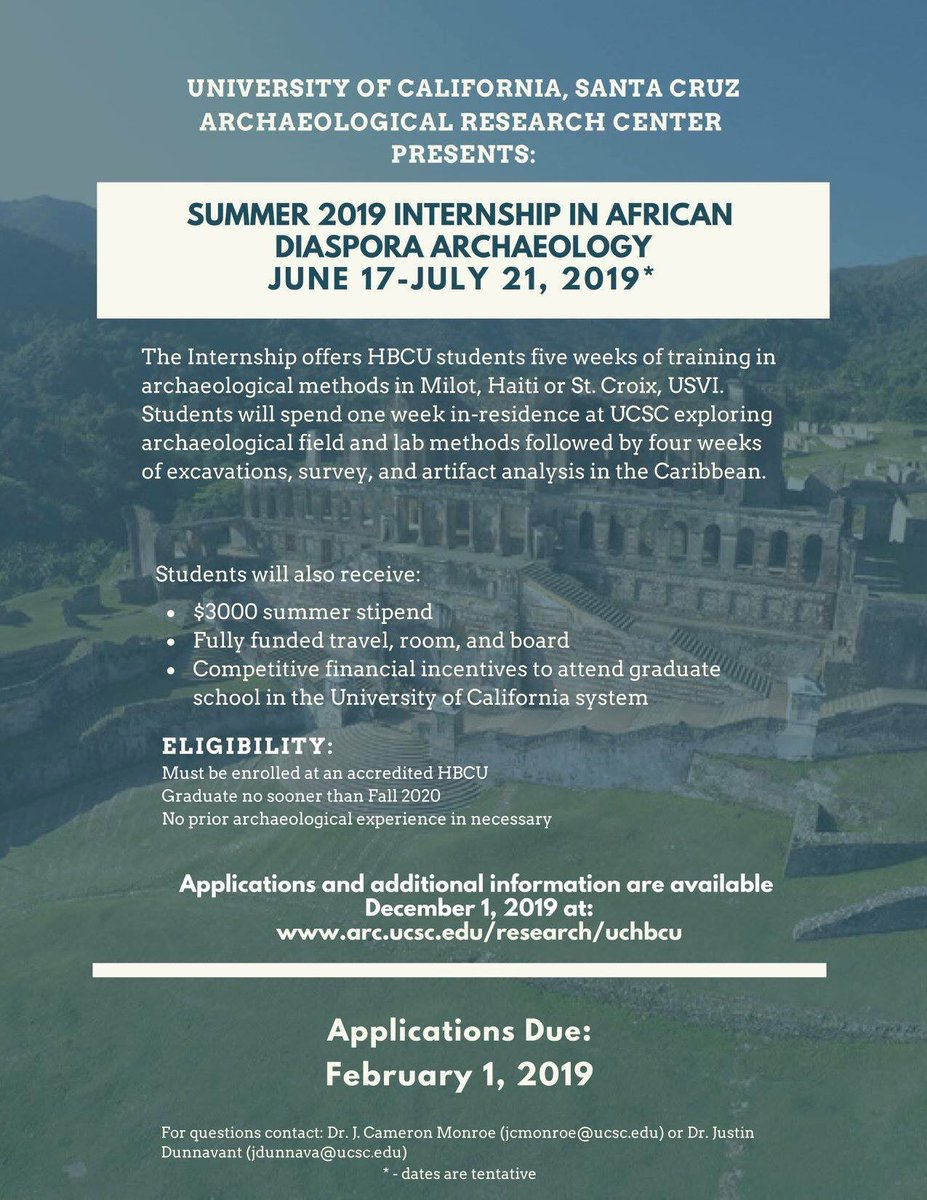 Ucsc Summer Session 2020.Ucsc Archaeological Research Center On Twitter Are You An