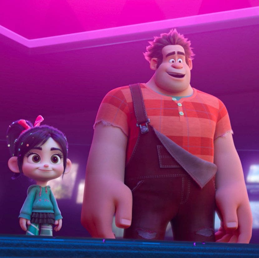 #RalphBreaksTheInternet is the #1 movie in the country for 2 weeks in a row. See it now in theatres!