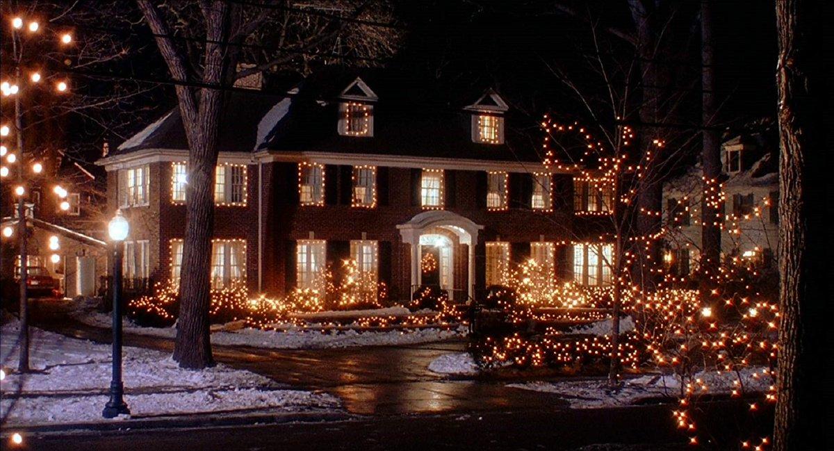 Один дома новогодние картинки