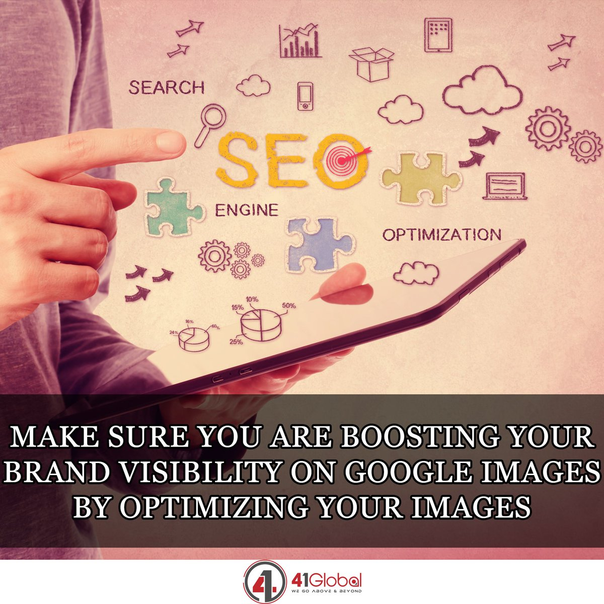 SEO Tip! 😀😉 Image optimization is among the most manageable yet overlooked strategies for SEO #41Global #seo #marketing #website #webdevelopment #websitedesigner #webdesign #webdesigner #webdevelopment #mobilefirst #google #code #techie #tech #developer #marketingtips