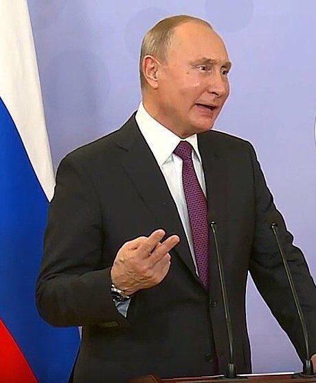 """Путін про відмову розмовляти по телефону з Порошенком: """"Я не хочу брати участь у його виборчій кампанії"""" - Цензор.НЕТ 3899"""