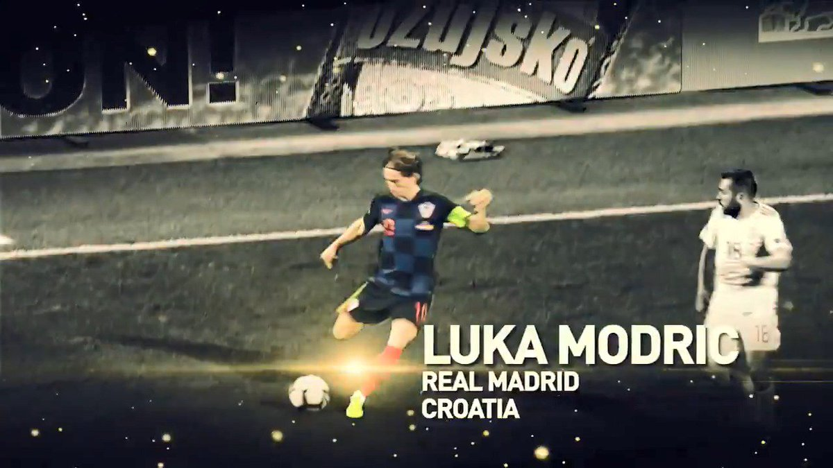 🇭🇷 Luka Modric is the first Croatian player who wins the Ballon d'Or! #ballondor