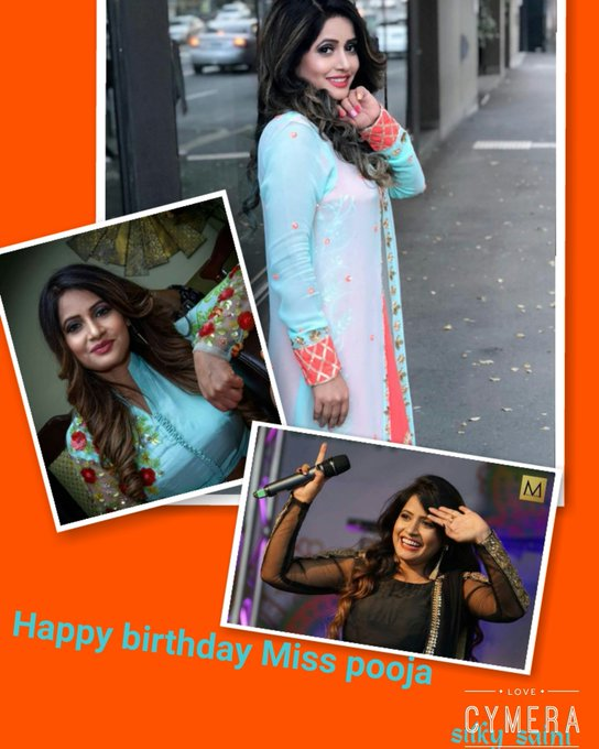 Happy birthday Miss Pooja....God bless you...