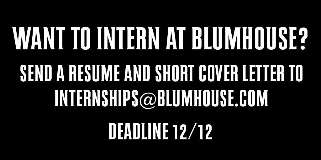 Blumhouse on Twitter: