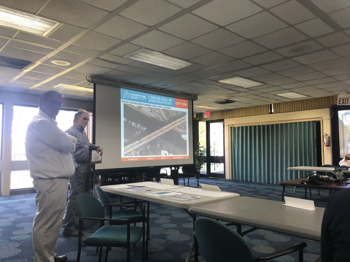 Encouraging the folks behind the new Double-Decker @MyFDOT_Miami @MDXway highway project to include the Miami River Greenway in design + construction plans. @MyFDOT #miamiloop @MiamiBikeLawyer thank you for taking the lead 👏 @CityofMiami @downtownMIA