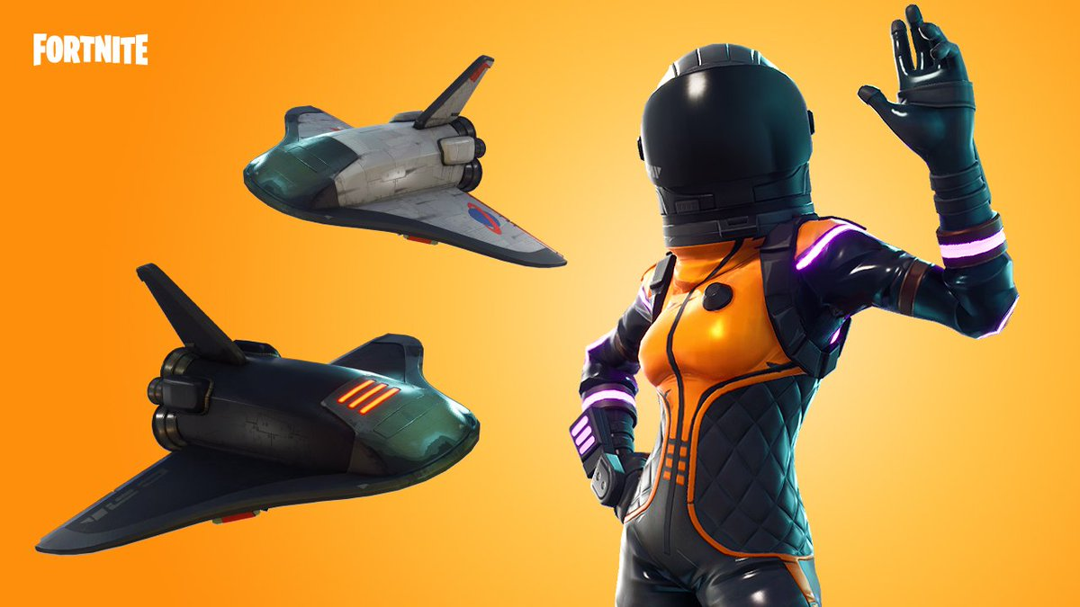 fortnite on twitter science reigns the dark vanguard gear and grim medicine gear are available now - fortnite medicine