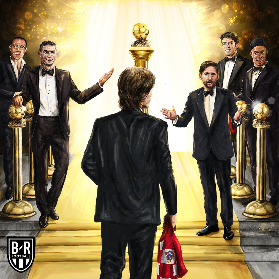 The 2018 Ballon d'Or goes to @lukamodric10 🏆