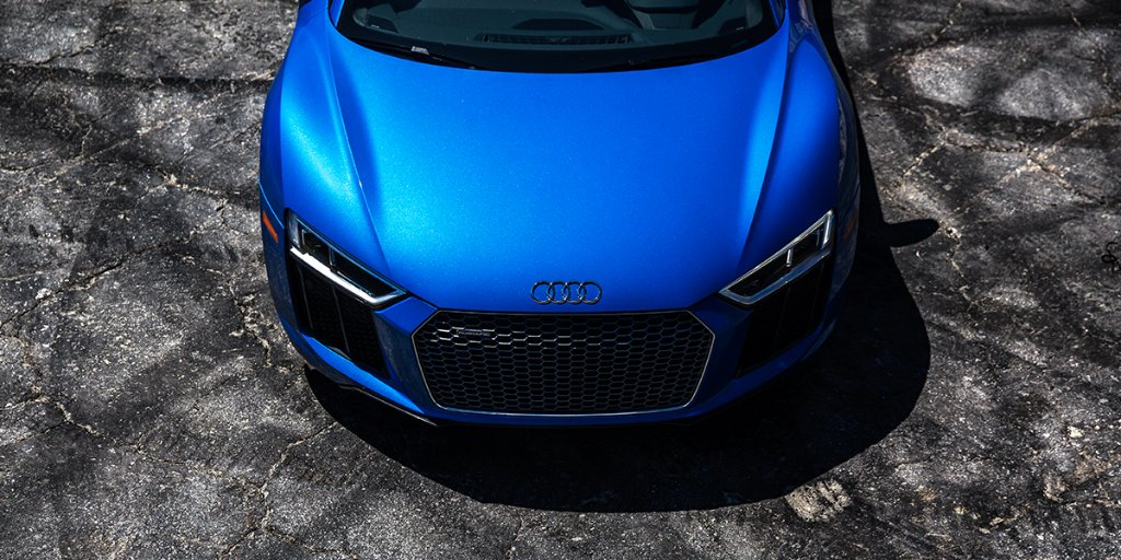 Leaving battle scars on the road. #WantAnR8