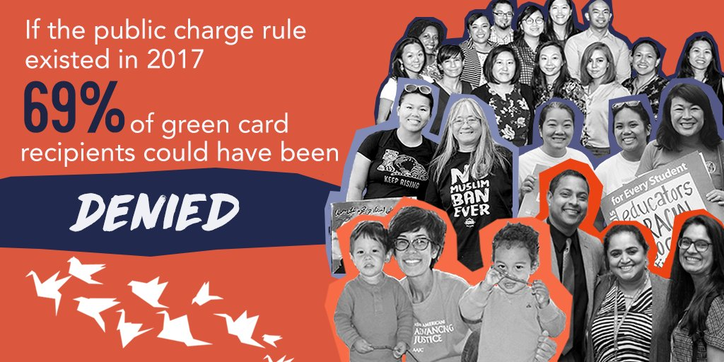 NATIONAL AAPI DAY OF ACTION!   Today, AAPIs across the country are coming together to stand against public charge - a policy that would dramatically alter which immigrants are permitted to enter/stay in US.  SUBMIT COMMENT NOW: http://bit.ly/PCPublicCharge  #NoToPublicCharge