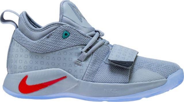 5dcd093ef0ed playstation x pg 25 wolf grey grade school basketball shoe wolf grey multi
