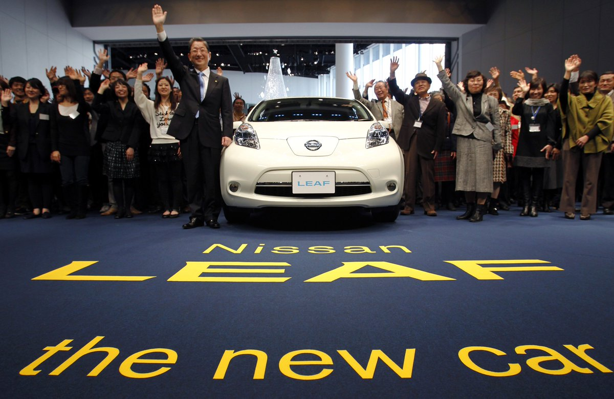 .@Reuters Today in History: 2010 - #Nissan launches the world's first electric car to be mass marketed #ReutersArchive #electriccars
