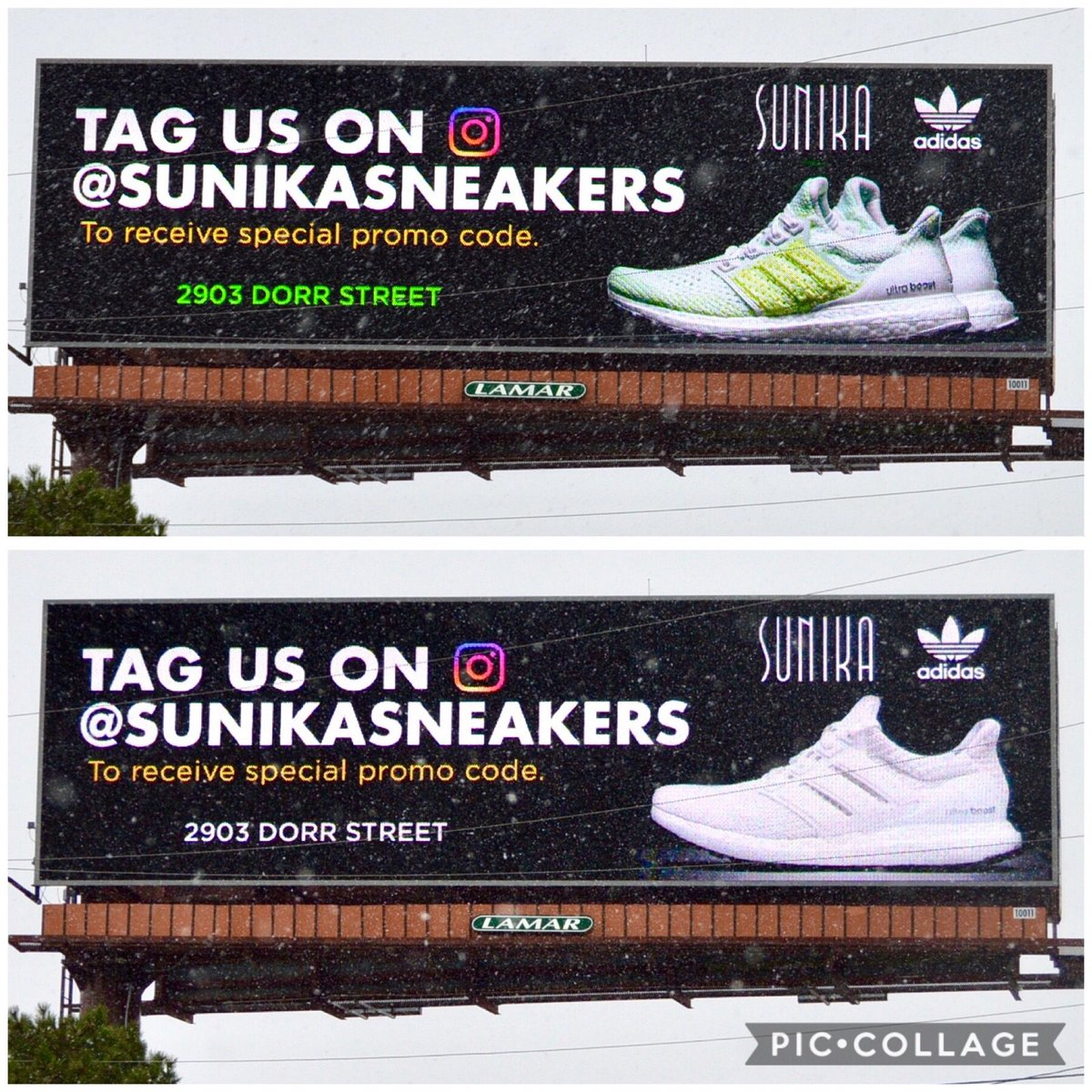Lamar Of Toledo On Twitter These Sneakers Are Lookin Outdooradvertising Ooh Adidas Billboard Toledo Shoplocal Sneakers