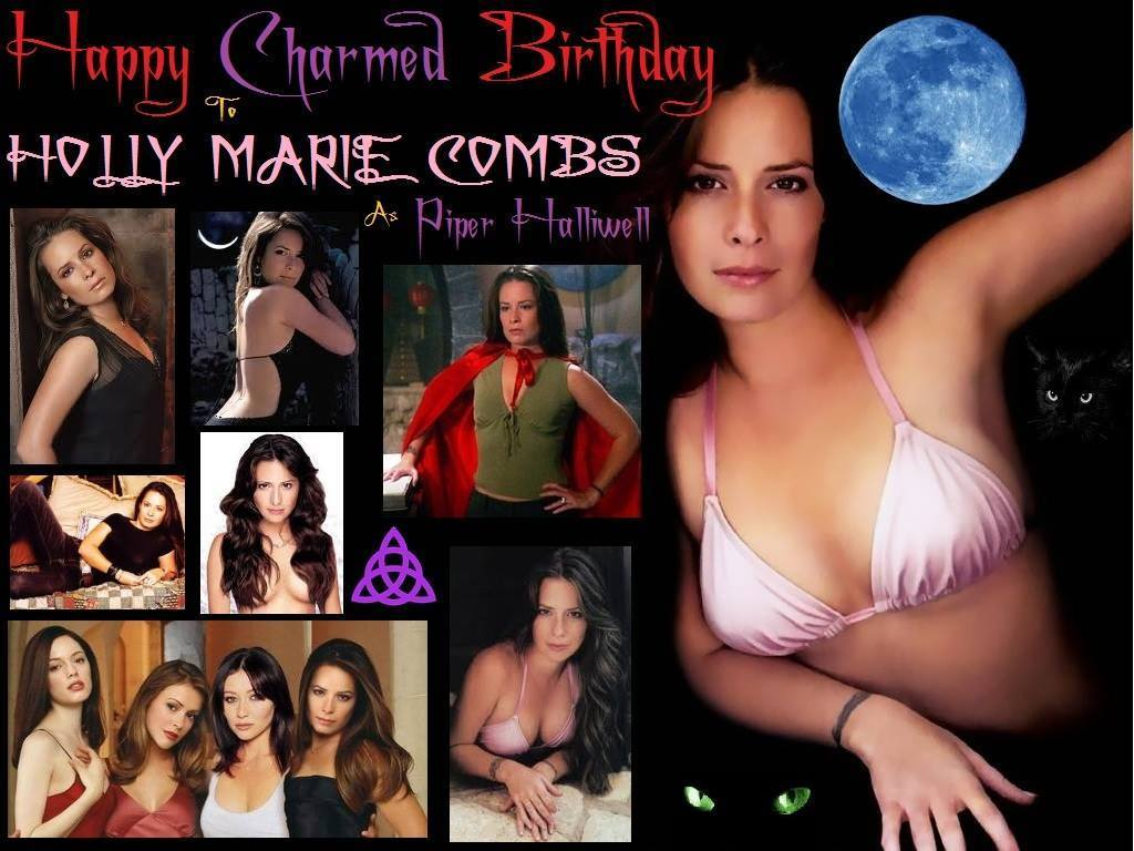 Happy birthday to Holly Marie Combs who was born December 3,1973.