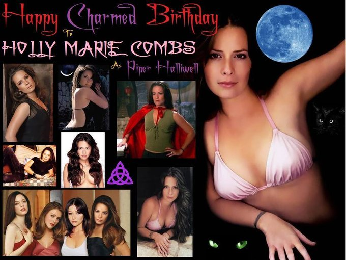 Happy birthday to Holly Marie Combs who was born December 3, 1973.
