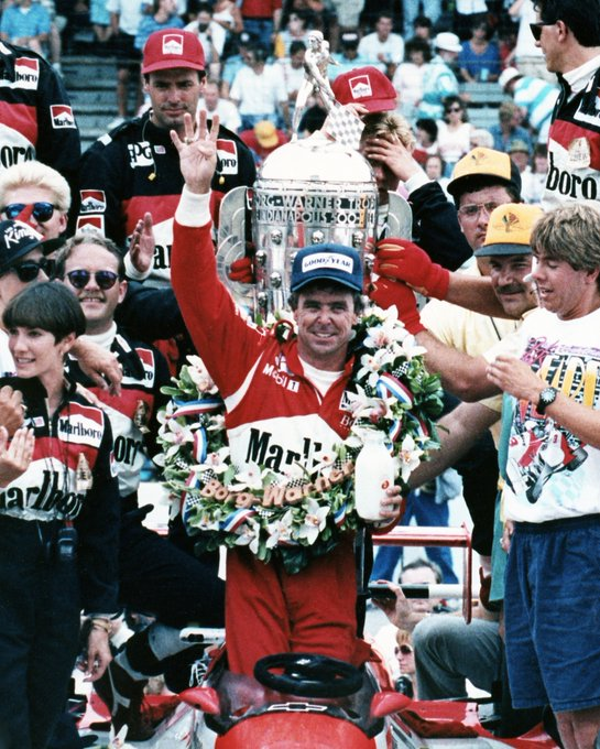 Happy birthday to 4-time champ, the one-and-only Rick Mears.