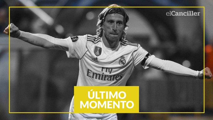 #BallonDor Luka Modric ganó el premio a mejor jugador y terminó con la era de Messi y Cristiano Ronaldo. Photo