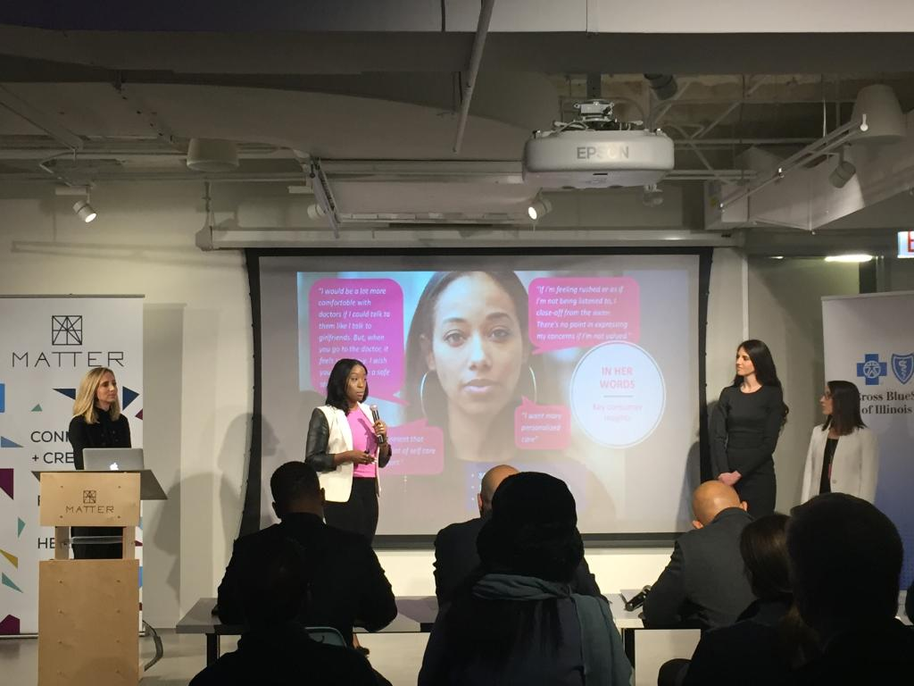 """We're able to deliver breast cancer education to Millennial women of color on their own terms, in their environment, starting with social media outreach,"" @BeBrightPink @MATTERhealth #HealthEquity Challenge"