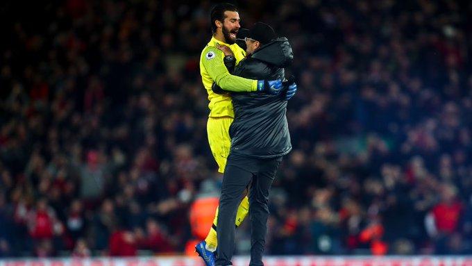 FA denuncia Klopp por comemoração efusiva em vitória do Liverpool Photo