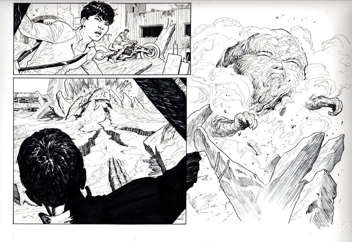 Marco Fodera On Twitter Manga Animeart Comics Art Otomo Akira Tribute Kaneda Japan Katsuhirootomo Otomokatsuhiro Homage Fanart