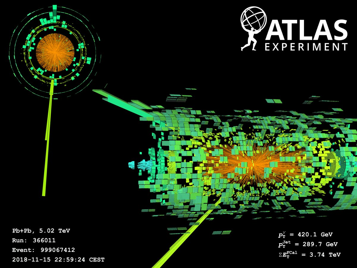 [ATLAS News] That's a wrap! ATLAS completes data-taking for Run 2 of the LHC. Find out more: