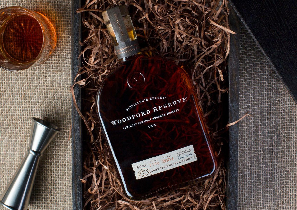 A gift of quality never goes out of style. #woodfordreserve
