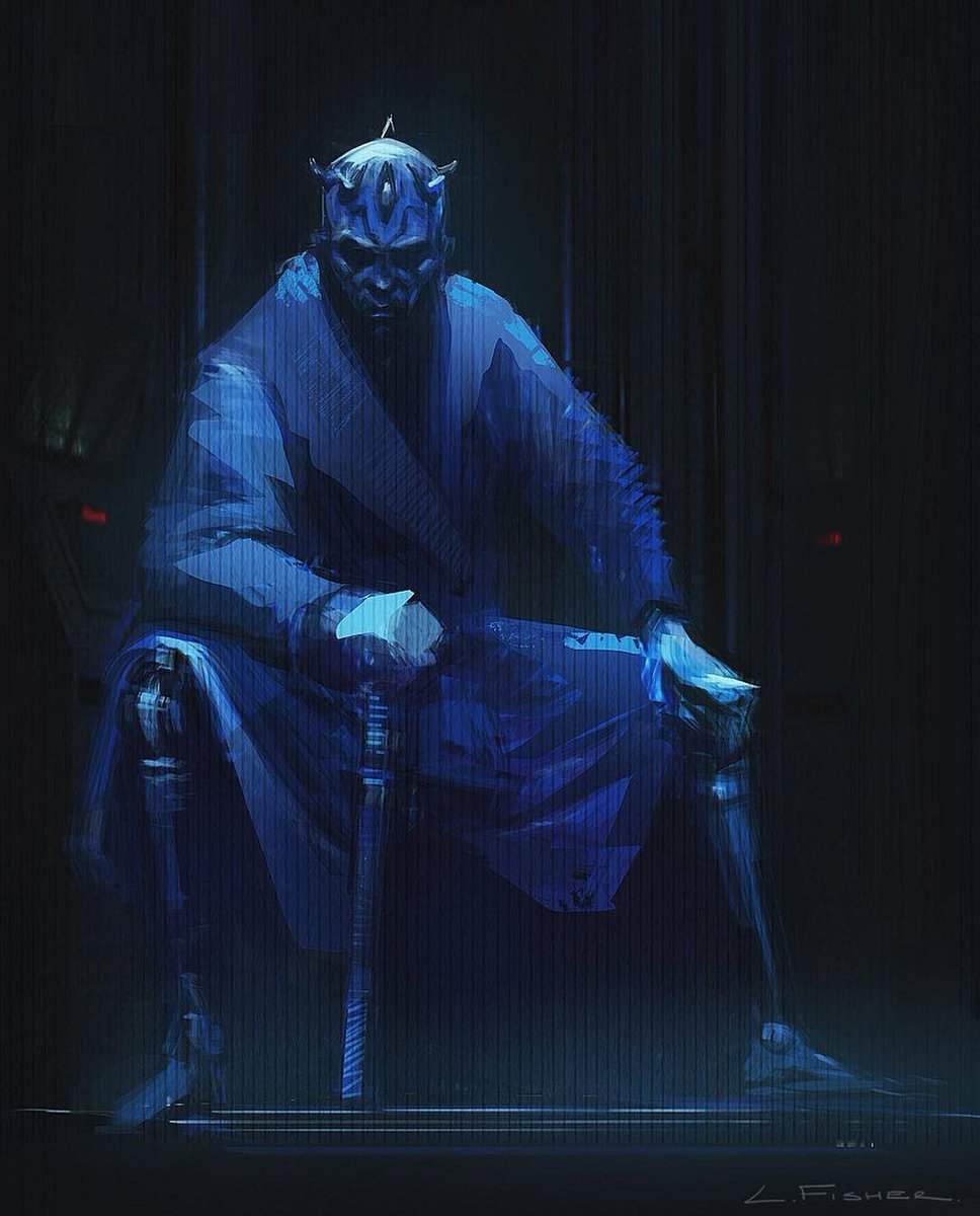 Darth Maul Concept Art Solo