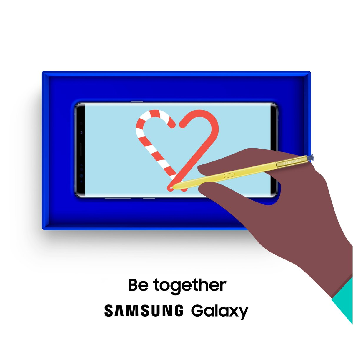 The all-day gift for all-year friends and family. Be together with #GalaxyNote9. Learn more: http://smsng.co/Holiday_kat