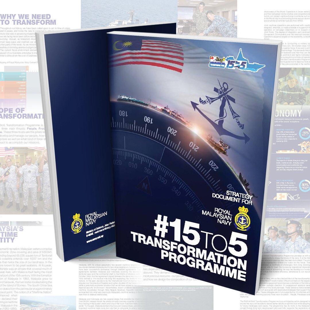 Sama-sama kita hayati pengisiannya. Muat turun Buku Dokumen Strategi Program #Transformasi #15to5 TLDM pada pautan di bawah: https://tinyurl.com/y97a8pn9 ...