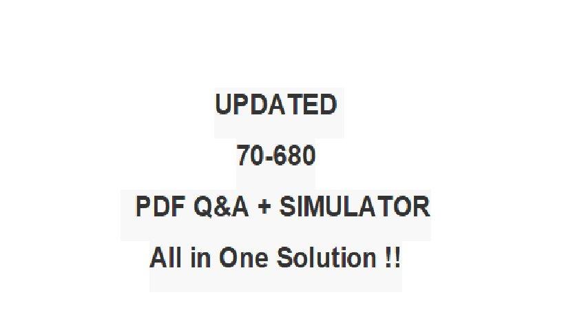 Kit 70-680 pdf training