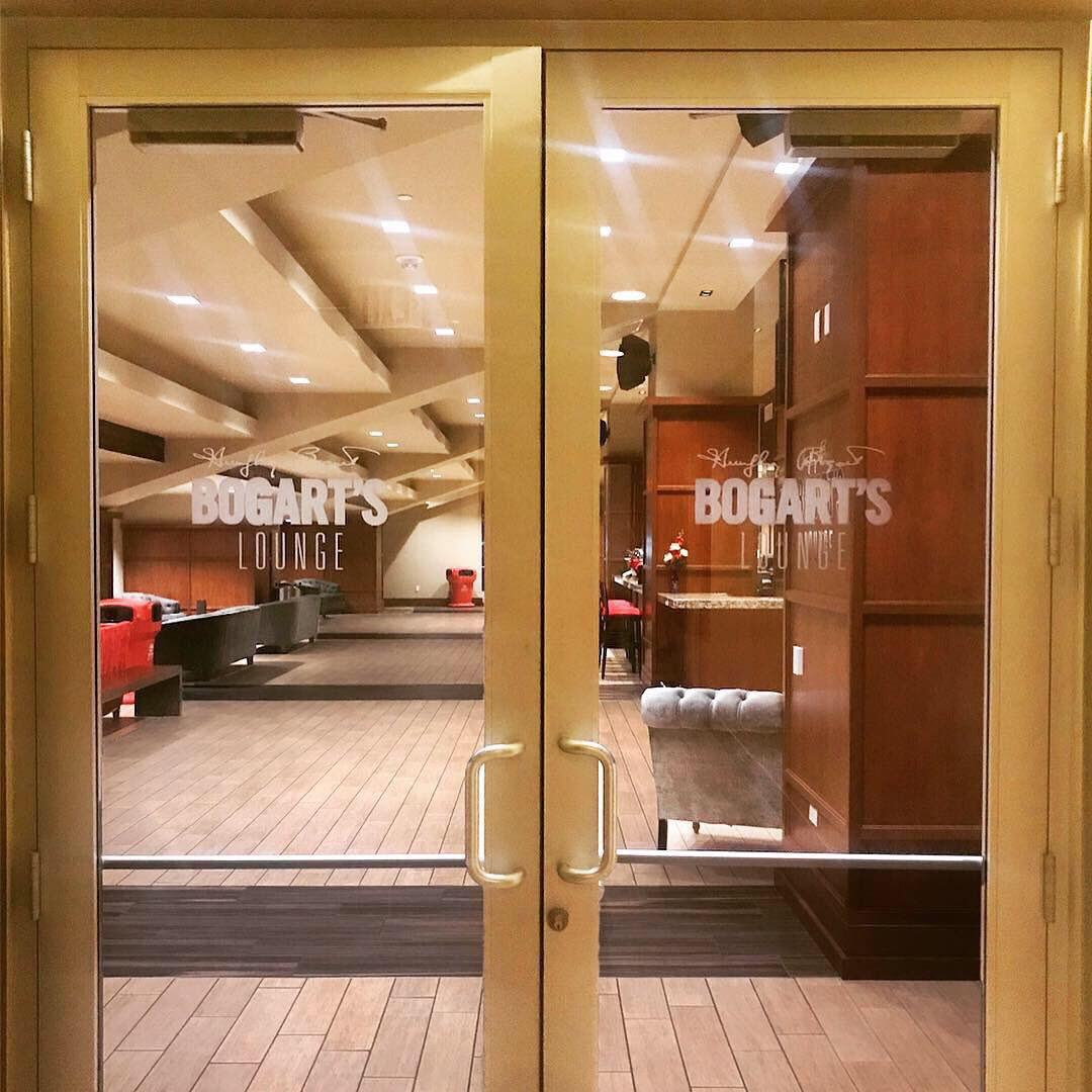 The next time you're attending a @HoustonRockets game at the @ToyotaCenter, please stop by our @BogartSpirits Lounge and try a Bogart's cocktail!
