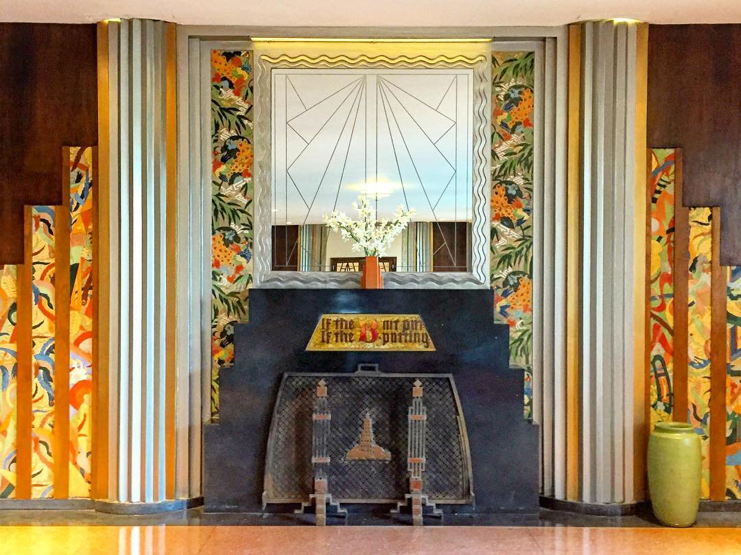 Lobby detail, The Powhatan (DeGolyer & Morgan, 1927) in Kenwood Photo @EricAllixRogers #artdeco #Chicago #architecture #1920s | @chicagodeco RT @june_kearns