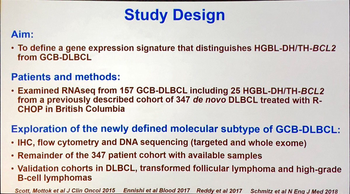 4d0006d8 David Scott from @bccancerfdn describes translational research defining a  new molecular subtype of GCB-DLBCL with a DH-signature - important clinical  ...