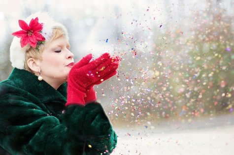 Fill your life with #Christmas sparkle...by actively reaching out to others https://buff.ly/2Qd6Yoo  @GoldsmithBev via @www_motherpedia #love #generosity