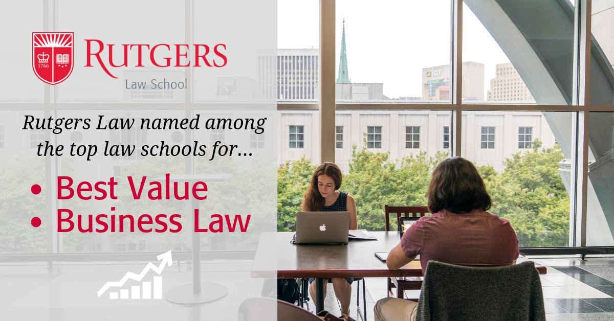 Rutgers Law ⚖ on Twitter:
