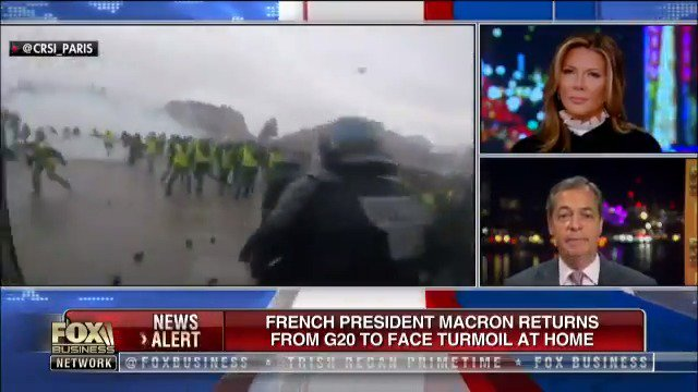 Globalist Macron spends his time virtue signalling to the world and has totally disconnected from ordinary French citizens. This is what happens when the people feel ignored.