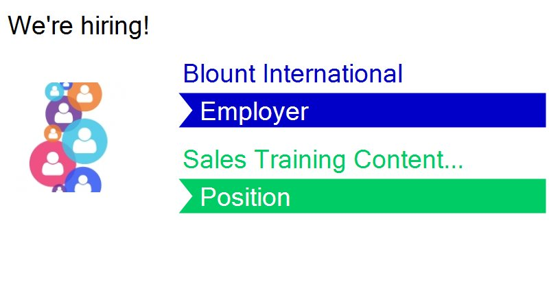 Blount Intl  Careers on Twitter: