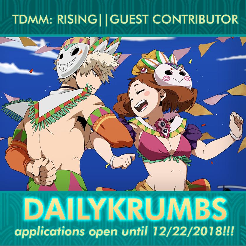 ✨❄ TDMM: RISING ✨🔥Happy Birthday Todoroki-kun!! on Twitter