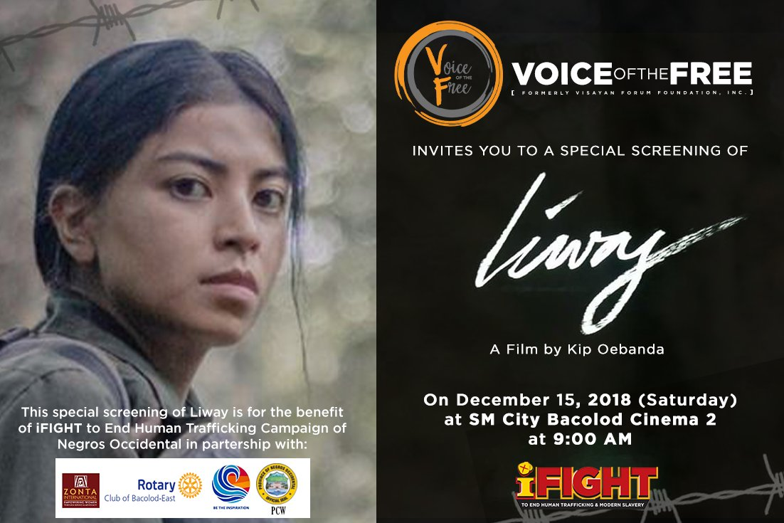 Voice Of The Free On Twitter Hello Bacolod Friends
