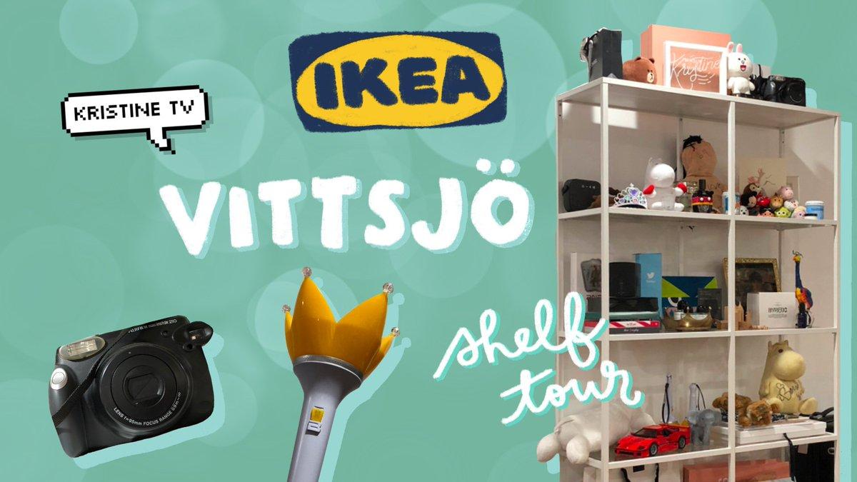What's on my @IKEAUSA VITTSJO shelf? Vlogmas #3 is a SHELF TOUR! check it out plz  https://www. youtube.com/watch?v=X0CXdf UGm1o  … <br>http://pic.twitter.com/KjAtJul1E6
