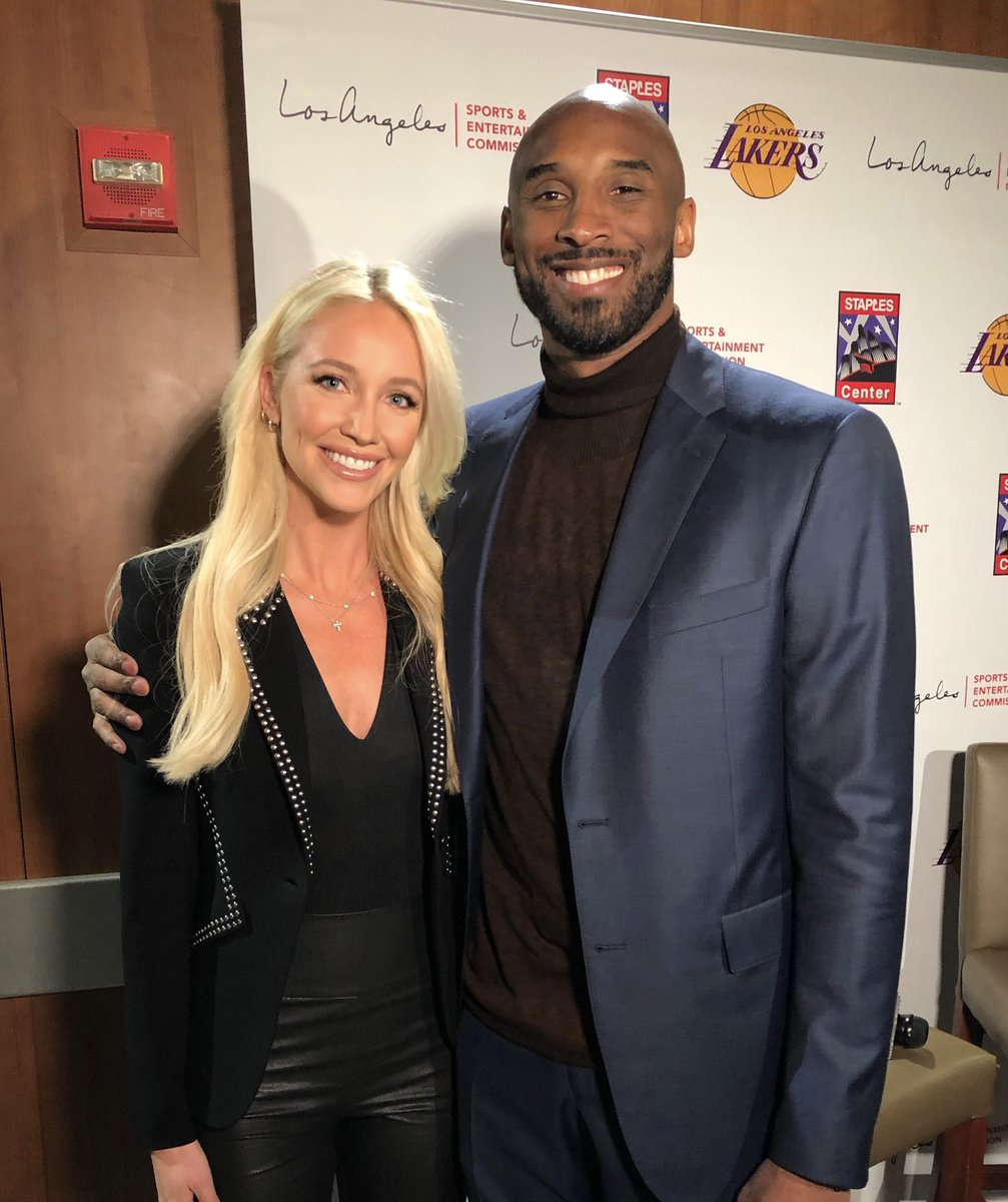 Ashley Brewer On Twitter One Day You Re In 7th Grade Chasing Kobe Around The Mall With You Re Friends Next Thing You Know You Re Interviewing Him Live On Abc Life Comes At Ya