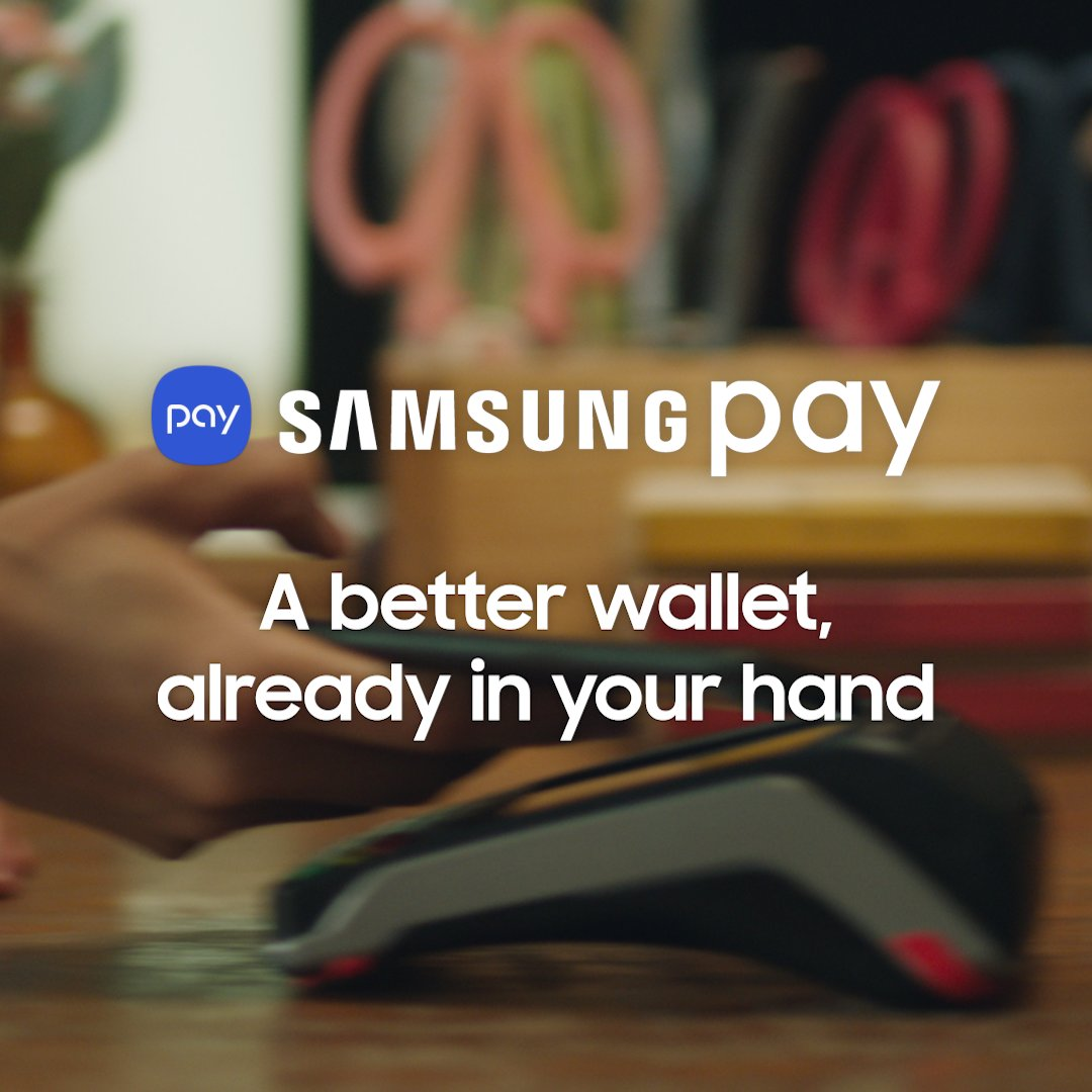 More than a phone. More than a wallet. Samsung Pay on your #GalaxyNote9.  Learn more: http://smsng.co/SamsungPay_st