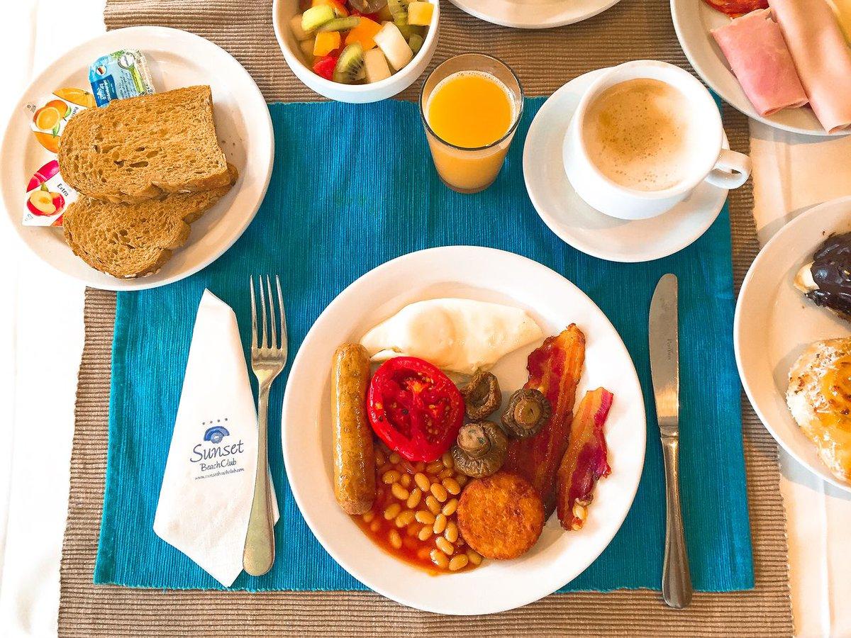 Sunset Beach Club On Twitter It S Breakfast Time Fancy A Full Breakfast In Our Oasis Restaurant