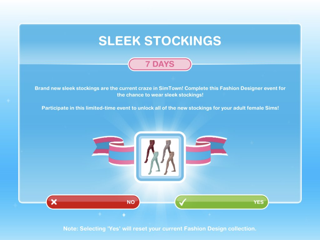 The Girl Who Games On Twitter The Sims Freeplay Sleek Stockings Event Https T Co Fykuexszyf
