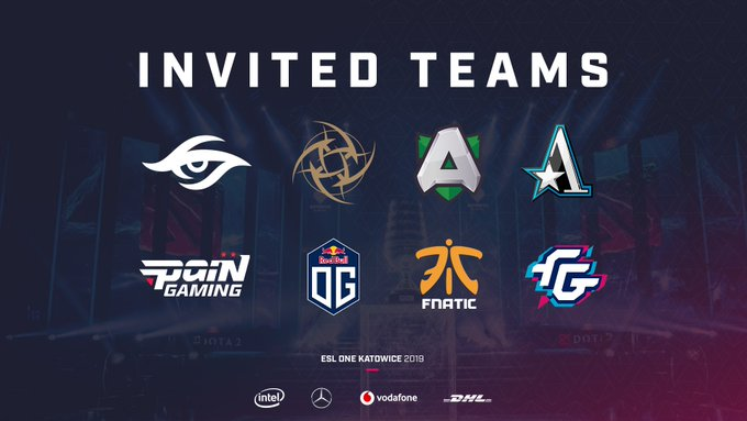 🇵🇱⚙️ Winter in Poland just got 🔥 courtesy of our #ESLOne Katowice 2019 invited teams! Who do you think will come out on top? 🎟️ Foto