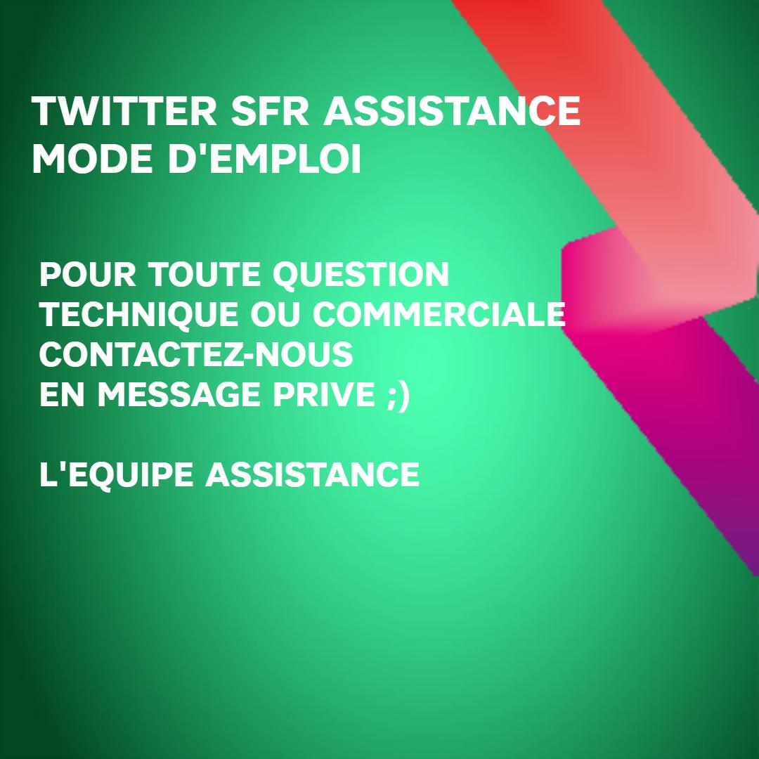 Assistance SFR (@SFR_SAV)   Twitter