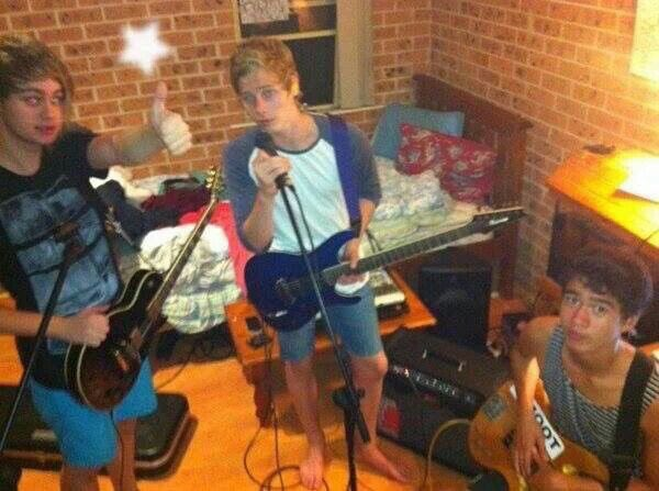I'm really in my feels about this photo.  This was in my bedroom in 2011. We were practicing 5-6 times a week after school in Sydney - Ashton