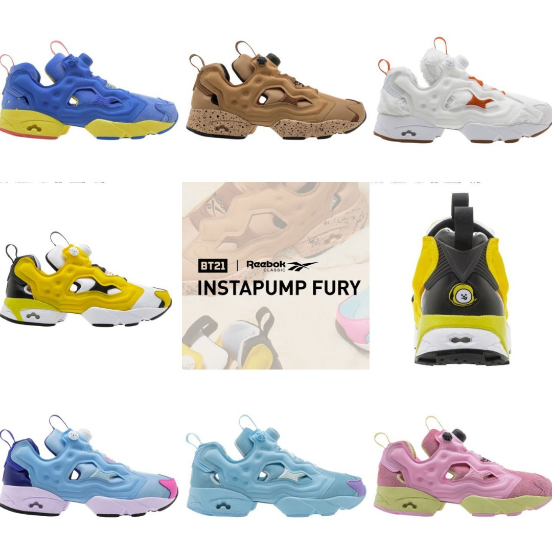 dd1830f3432 Now you can Pre-Order REEBOK X BT21 INSTAPUMP FURY at our website
