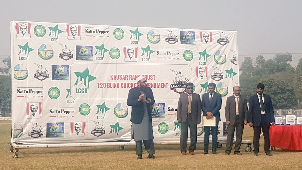 It was a privilege to be at this T20 Blind Cricket Tournament. These differently-able brave people have more vision and courage than most of us. Prayers for everyone out there.